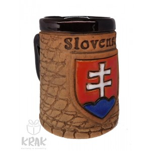 "Keramický mini hrnček ""Slovensko"" 1537 - 1"