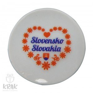 Magnetka - tanierik - dekor 3 -  Slovensko - 1633 - 3