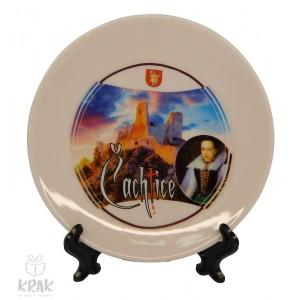 "Tanierik v stojane - dekor 2 - "" Čachtice "" - 1635 - 10"