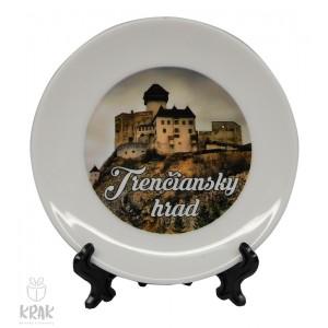 """Tanierik v stojane -  """" Trenčianský hrad """" - dekor 5 - 1635 - 20"""