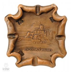 """Keramický popolník """"Spišský hrad"""" 1860 - 2"""