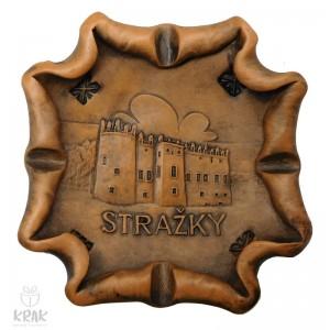 """Keramický popolník """"Strážky"""" 1860 - 3"""