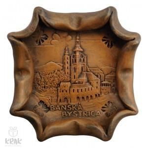 """Keramický popolník """"Banská Bystrica"""" 1860 - 4"""