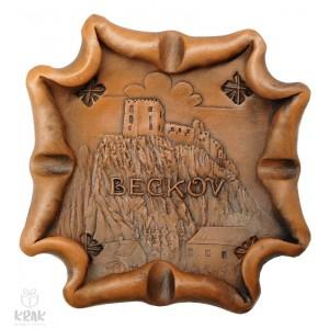 """Keramický popolník """"Beckov"""" 1860 - 6"""