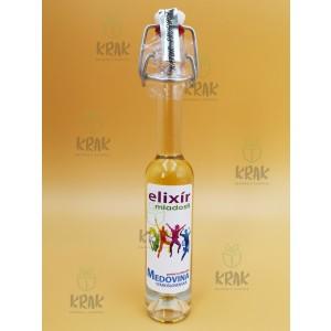 "Medovina PALAZZO - 0,04l - ozdobná fľaša s nápisom ""Elixír mladosti"" - 1978-7"