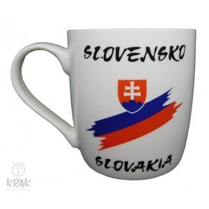 """Keramický hrnček """"M""""  - """"Slovensko"""" - 2355 - 2"""