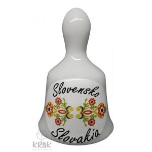 """Zvonček malý - motív - """"Slovensko"""" - dekor 11 - 19"""