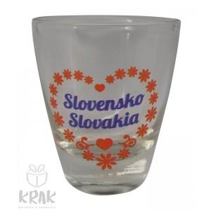 "Štamperlík ""mini"" - motív ""Slovensko"" - dekor 4 - sada 6 kusov - 2499-3"