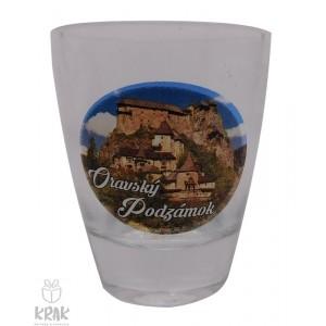 """Štamperlík """"mini"""" - motív """"Oravský podzámok"""" - dekor 1 - sada 6 kusov - 2499-11"""