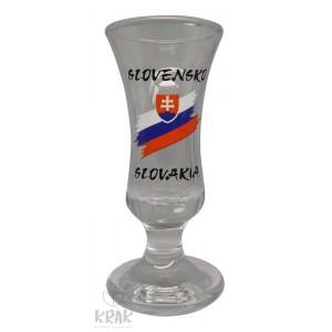 "Jagerka - motív ""Slovensko"" - dekor 7 - sada 6 kusov - 2881-7"