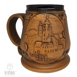 """Keramický krígeľ 300 ml. """"Banská Bystrica"""" 3102- 7"""