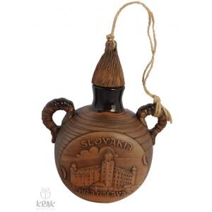 """Pastierska fľaša malá -  """"Bratislava"""" 3117 - 19"""