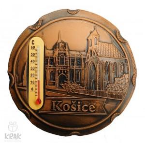 "Keramická magnetka s teplomerom ""Košice"" 3169 - 2"