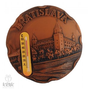 "Keramická magnetka s teplomerom -  ""Bratislava"" 3169- 3"