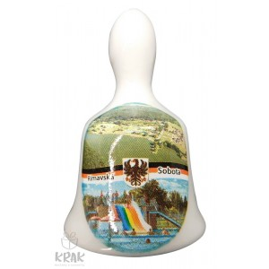"""Zvonček malý - motív - """"Rimavská Sobota"""" - dekor 4 - 17"""