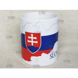 Hrnček Slovensko  vlajka - mapa 2359 - 21