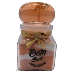 """Soľ do kúpeľa so sviečkou - malá - """"kalamár"""" - 2298 - 4"""