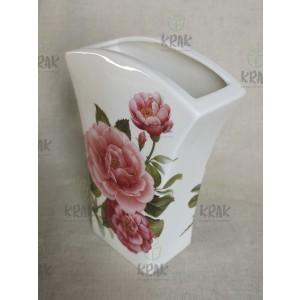 Váza hranatá ruža 2163 - 2