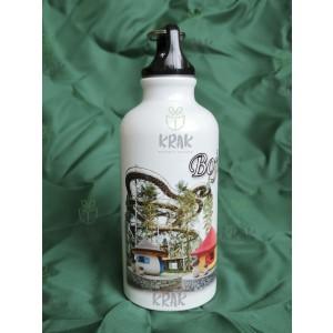 Hliníková fľaša 400 ml dekor Bojnice veža 1623 - 7