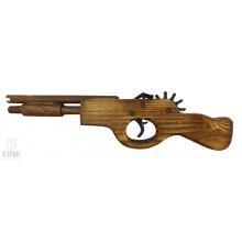 Drevená pištoľ dlhá - suvenír - 0182 - 1
