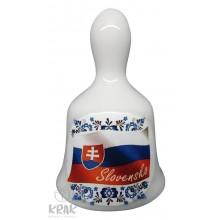 """Zvonček malý - motív - """"Slovensko"""" - dekor 10 - 18"""