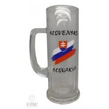 """Pivový krígeľ """"Europa"""" 0,3l - motív """"Slove..."""