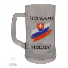"""Pivový krígeľ """"Pub"""" 0,5l  - """"Slovensko&quo..."""