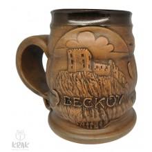 """Keramický krígeľ 500 ml. """"Beckov"""" 3525 - 15"""