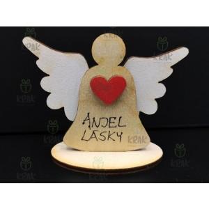 Drevený anjel 0384