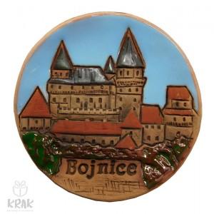 "Keramická magnetka farebná ""Bojnice"" 1542 - 1"