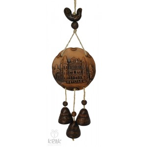 "Keramická plaketa so zvončekmi  ""Betliar"" 1548 - 3"