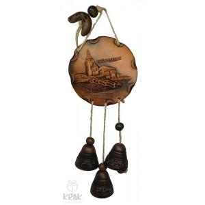 "Keramická plaketa so zvončekmi ""Ružomberok"" 1548 - 4"