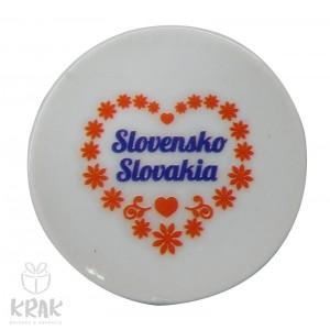 Magnetka - tanierik - dekor 4 -  Slovensko - 1633 - 4