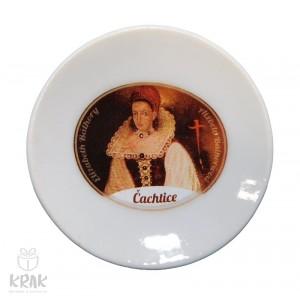 Magnetka - tanierik - dekor 4  - Čachtice  - 1633 - 6