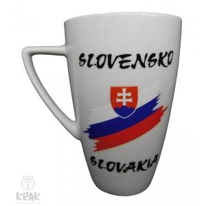 """Keramický hrnček """"M""""  - """"Slovensko"""" - 2355 - 3"""