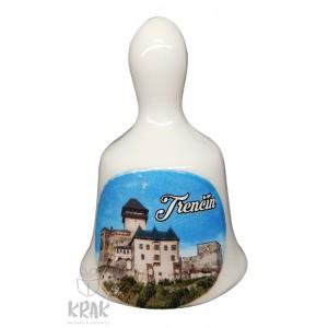 Zvonček malý - motív - Trenčín - dekor - 09