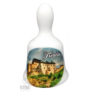 Zvonček malý - motív - Trenčín - dekor 2 - 11