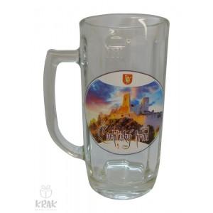 """Pivový krígeľ """"Europa"""" 0,3l - motív """"Čachtický hrad"""" 2502r-3"""