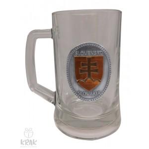 """Pivový krígeľ """"Pub"""" 0,3l  -  """"Slovenský znak - erb""""  2512 - 2"""