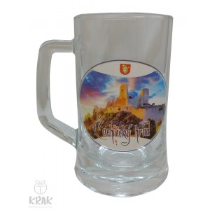 """Pivový krígeľ """"Pub"""" 0,3l  -  """"Čachtický hrad"""" - 2520- 3"""