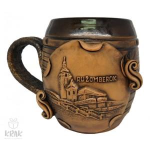 """Keramický krígeľ 300 ml. """"Ružomberok"""" 3102 - 9"""