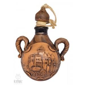 "Pastierska fľaša malá ""Trenčín"" 3117 - 4"