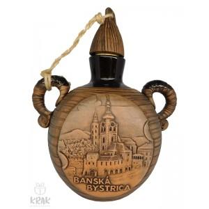 "Pastierska fľaša malá ""Banská Bystrica"" 3117- 5"