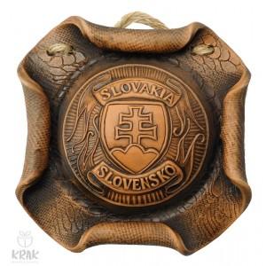Plaketa - štvorec s motívom erb Slovensko - 1