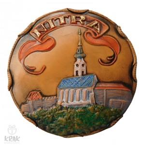 """Keramická magnetka """"Nitra"""" 3143 - 5"""