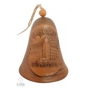 """Keramický zvonec - motív """"Bratislava"""" - 13"""