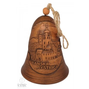 "Keramický zvonec ""Banská Bystrica"" 3535- 5"