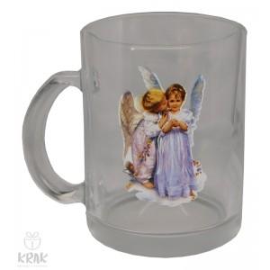 """Hrnček """"priehľadný"""" -  """"anjel"""" dekor 2 - 2760 - 2"""