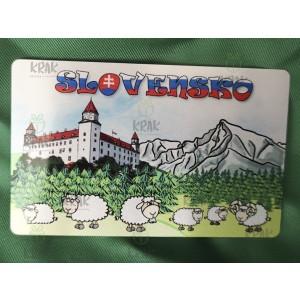 Plechová magnetka  Slovensko 1611 - 2