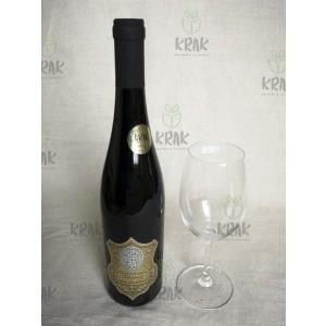 Vínová sada v krabici - zlatá etiketa 2945